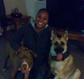 Bo & Butkus reunited with Ah'monie!