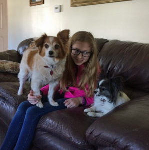 Fifi & Lucy reunited with Malena!