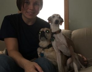 Lucy and Jake found a foster!