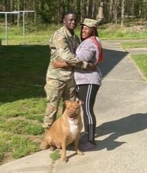 MJ found a foster in NC!